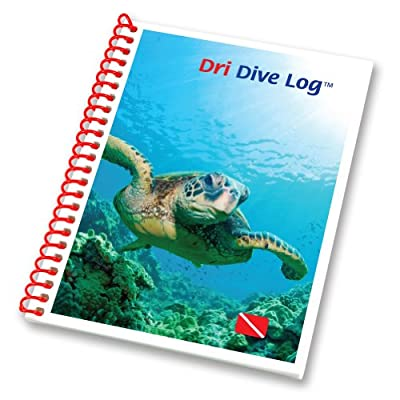 Raging Scuba Waterproof Dri Dive Log Book -Traveler Mini Size