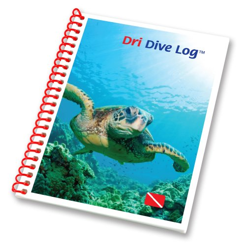 Raging Scuba Waterproof Dri Dive Log Book -Traveler Mini (3 Ring Log Book)