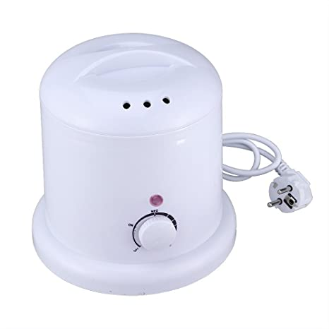 Crisnails® Calentador de Cera Eléctrico 1000ml para la Depilación ,Centro de Depilación para Calentador