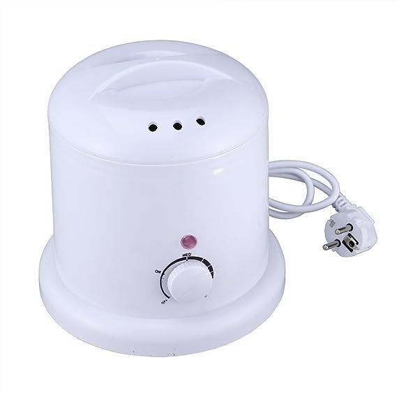 Crisnails® Calentador de Cera Eléctrico 1000ml para la Depilación,Centro de Depilación para Calentador Tipos de Cera (Duro, Suave, Parafina), Enchufe de EU: ...