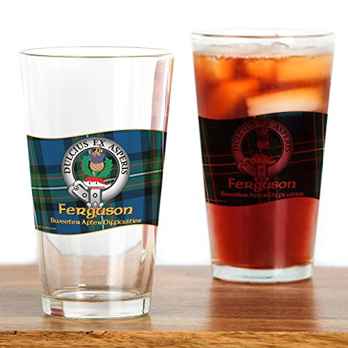 Scottish Beer (CafePress - Ferguson Clan - Pint Glass, 16 oz. Drinking Glass)