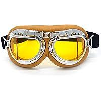 Evomosa Vintage Goggles Aviator Pilot Style Motorcycle...