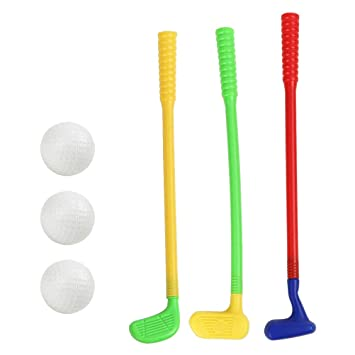 Yeahibaby Plastic Golf Toys - Mini Golf Game Sports Clubs de ...