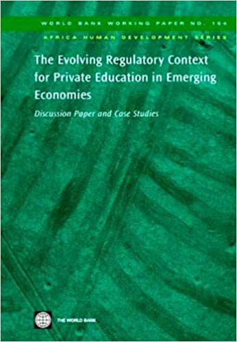 The Case Against Private Education Why >> Amazon Com The Evolving Regulatory Context For Private Education In