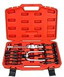 8MILELAKE 8mlelake Blind Inner Bearing Puller Hole Remover Extractor Set Slide Hammer Tool Kit