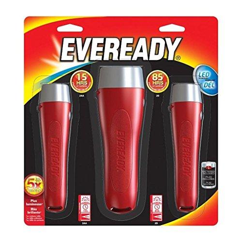 Eveready Led Flashlight (3 - Torch Eveready