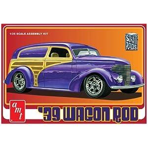 AMT 1939 Wagon Rod 1:25 Scale Plastic Model Car Kit