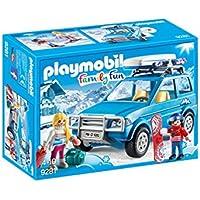 PLAYMOBIL® Winter SUV Building Set