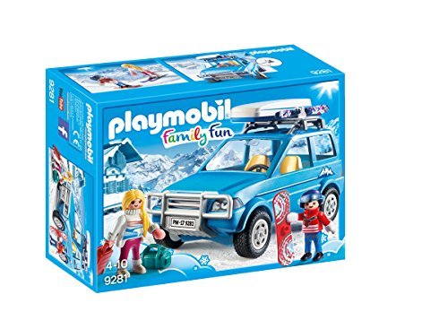 PLAYMOBIL Winter SUV Building Set