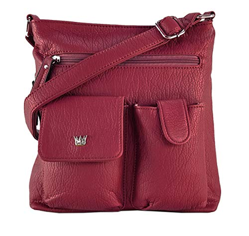Purse King Colt Concealed Carry Handbag (Candy Apple Red)