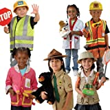 Community Helpers Outfits / Costumes for Kids - Set of 6