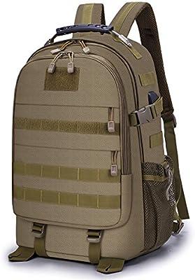 79163154247a0 Selighting Damen Herren Taktisch Rucksack Wasserdicht Molle Wanderrucksack  für Outdoor Wandern Trekking Camping (Braun)