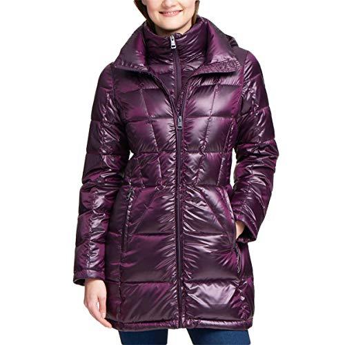 Andrew Marc Ladies' Packable Down Jacket (M, Purple)