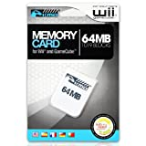 KMD Memory Card, 64MB-White, Wii
