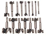 Bosch FB1600 16-Piece Wood Forstner Bit Set