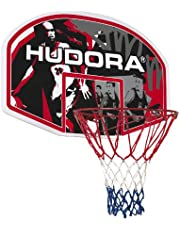 HUDORA Basketbalkorfset voor binnen en buiten, basketbalboard