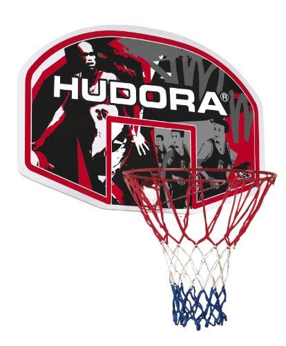 HUDORA Basketballkorbset In-/Outdoor, schwarz,weiß,rot, 71621
