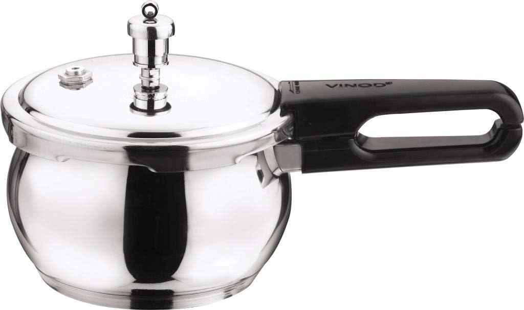 vinod splendid plus handi stainless steel pressure cooker