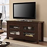 Walker Edison 44'' Coronado TV Stand Console, Brown