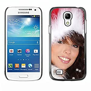 YOYO Slim PC / Aluminium Case Cover Armor Shell Portection //Christmas Holiday Sexy Hot Girl Woman 1020 //Samsung Galaxy S4 Mini by icecream design