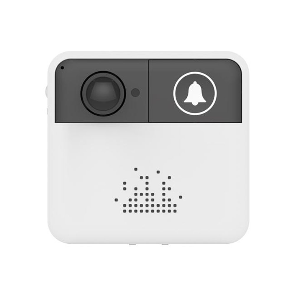 OWSOO Night Vision Smart Wireless WiFi Security Fine-quality DoorBell Smart Video Door Phone Visual Recording Low Power Consumption Mobile Phone Remote Home Kitchen Camera Monitoring