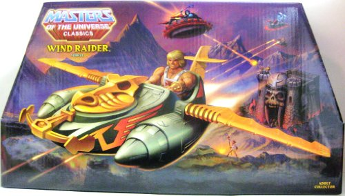 [HeMan Masters of the Universe Classics Exclusive Vehicle Wind Raider] (He Man Vehicle)