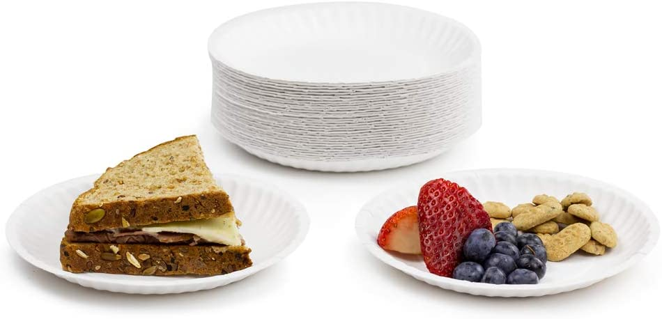 69106 Hygloss Products 69106 Paper Plates Decorative Paper