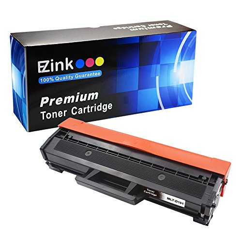 E-Z Ink (TM) Compatible Toner Cartridge Replacement for Samsung 101 MLT-D101S (1 Black Toner) Compatible With ML-2161/2166w/2160/2165/2165w SCX-3401/3401FH/3406W/3406HW, SCX-3405FW SCX-3400/3405/3405F/3405W/3405FW/3407, SF-761/761P/760P Printer