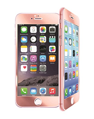 GabbaGoods Battle Shield Tempered Glass Screen Protector in Rose Gold for iPhone 7 and iPhone 8, 3D Full Coverage Tempered Glass, Scratch Proof/Bubble Free Battle Shield- Rose Gold Battle Shield