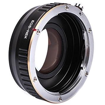 Quenox - Adaptador reductor de focal (Speedbooster) para objetivos ...