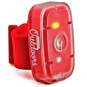 Luz de Seguridad LED / Linterna (Pack de 1) Luces de Rojas y Blancas para correr, ...