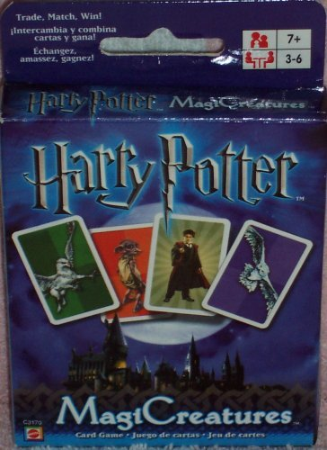 Amazon.com: Harry Potter MagiCreatures Card Game: Toys & Games