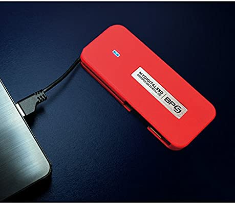 MyDigitalSSD BP5 SuperSpeed USB 3.0 UASP Compliant Mobile SSD with Integrated USB Cable (128GB)