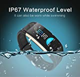 Best Pressure Monitor With Intelligent - Smart Watch Waterproof Bracelet Colorful Screen with Heart Review