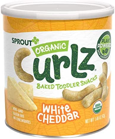 Baby & Toddler Snacks: Sprout Curlz