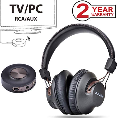 Great Features Of Avantree HT3189 Wireless Headphones for TV Watching & PC Gaming with Bluetooth Tra...