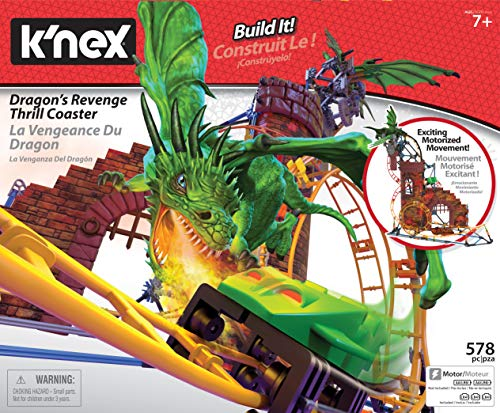 K'nex Dragon's Revenge Thrill Coaster is one of the hottest building toys for tweens