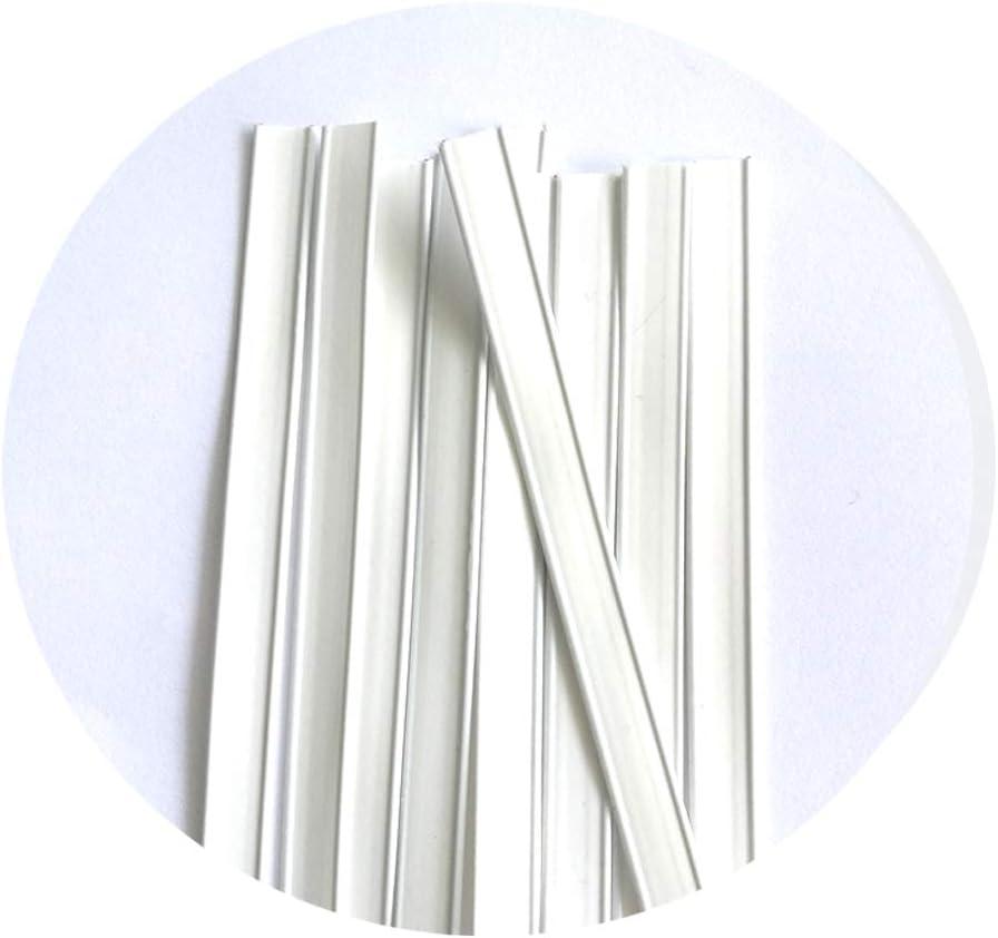 Polarkind 10 x patillas de nariz de metal alambre chapa flexible ...