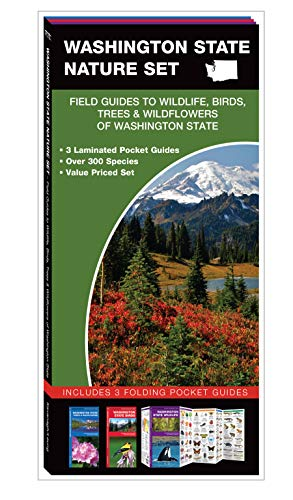 - Washington State Nature Set: Field Guides to Wildlife, Birds, Trees & Wildflowers of Washington State