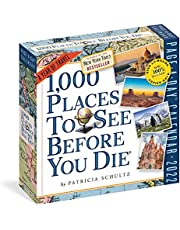 1,000 Places to See Before You Die Page-A-Day Calendar 2022: A Year of Travel