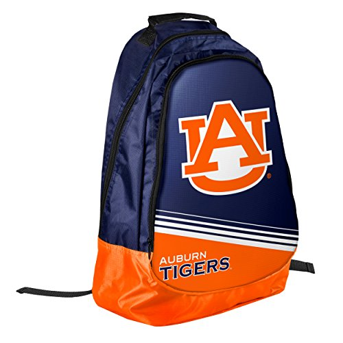Forever Collectibles Auburn Tigers Official NCAA Backpack Core Bag by - Backpack Tigers Auburn