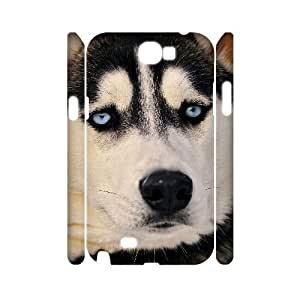 D-PAFD Cute Dog Customized Hard 3D Case For Samsung Galaxy Note 2 N7100