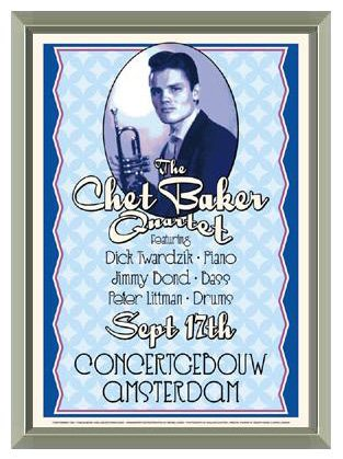 the-chet-baker-quartet-amsterdam-1955-concert-poster-reproduction-quality-framed-print-17-x-24