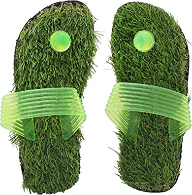 d03a37107cb CHARAN COLLECTIONS Grass Flip Flops and Slippers