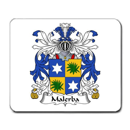 Malerba Family Crest Coat of Arms