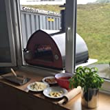 Gas fired pizza oven Bollore Pizza Party - wood or gpl fuel - the modern art of cooking - 100% made in Italy