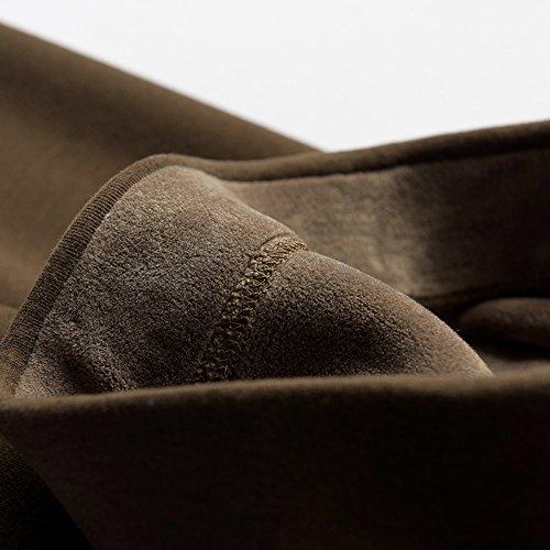 GBHNJ Leggings Plus Épais Coton Taille Haute Peut Se Porter À LExtérieur WomenS LAutomne Et LHiver Brun Thermique F(Poids Approprié 80-130 Catty)