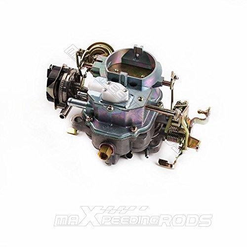 maXpeedingrods 2-Barrel Carburetor for Jeep 258CU BBD 6 Cylinder 4.2L Engine V8 Automatic Choke (Carburator Carter)