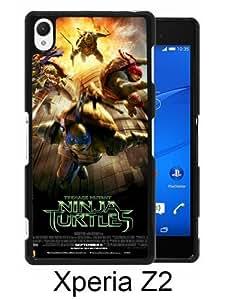 Teenage Mutant Ninja Turtles Black Unique Abstract Custom Sony Xperia Z2 Case