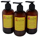 Naked Bee Hand & Body Lotion 8 Oz Variety Pack of 3 The Pink Pack For Sale